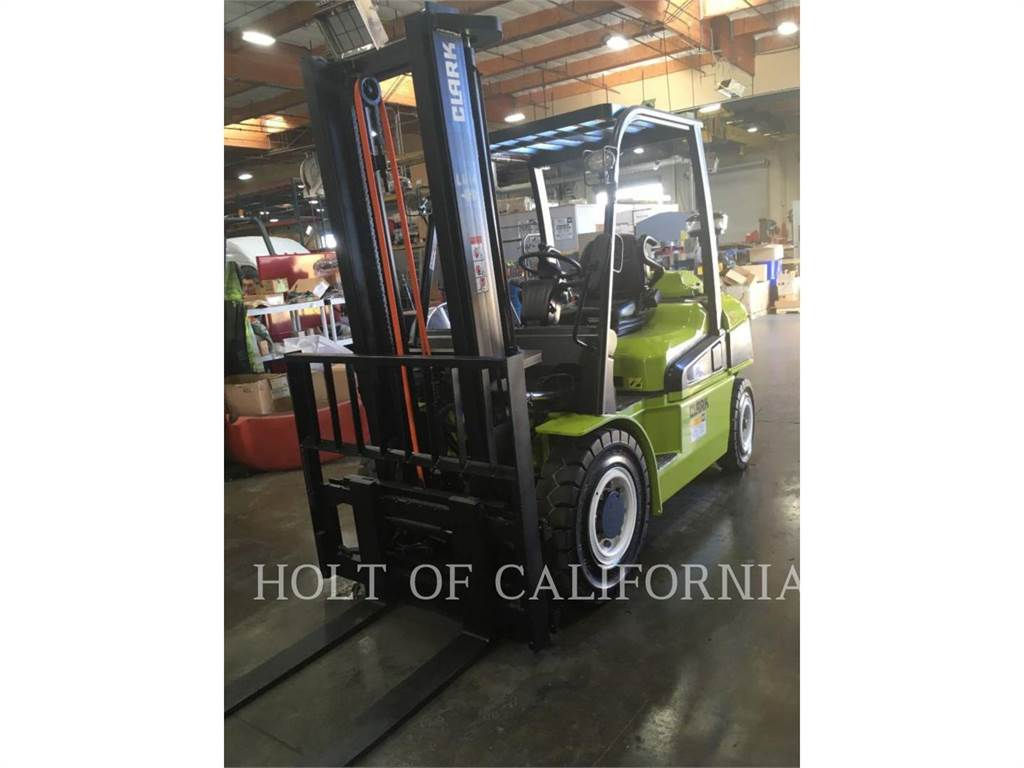 Clark C40D, Diesel Stapler, Flurförderzeuge