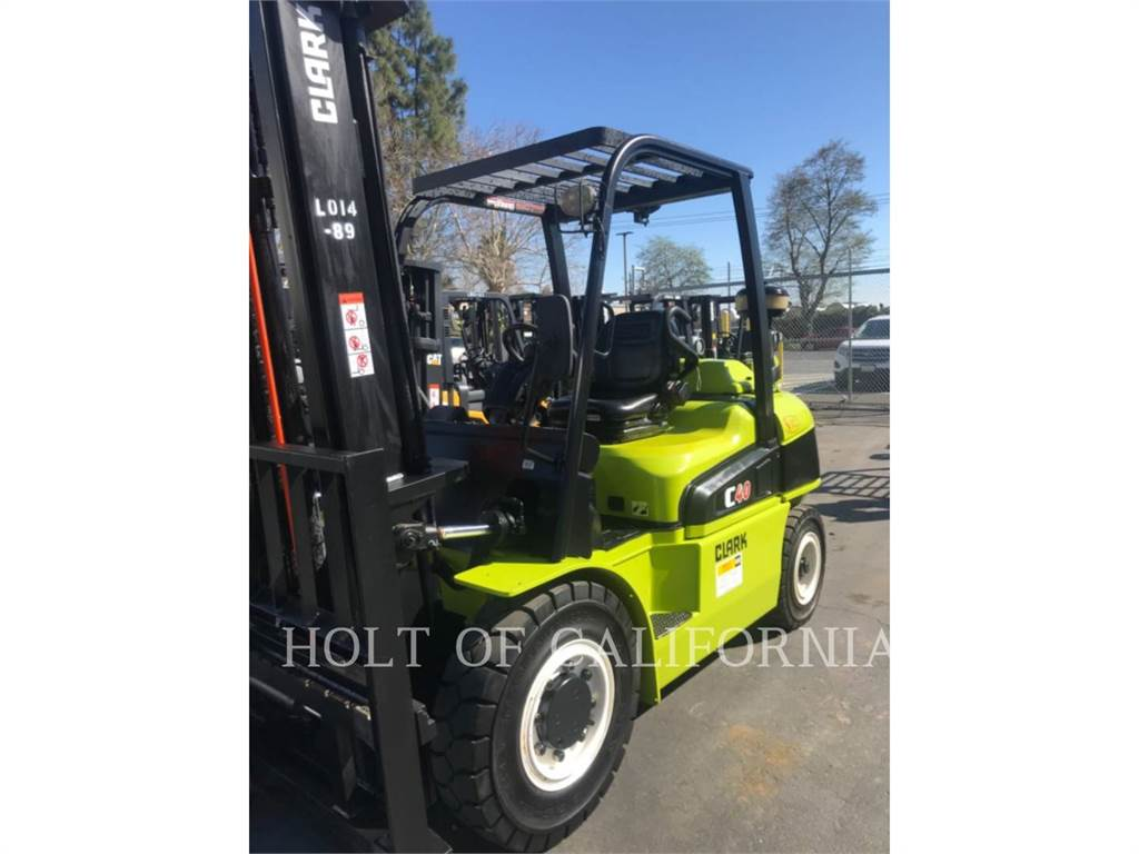 Clark C40D, Diesel Forklifts, Material Handling