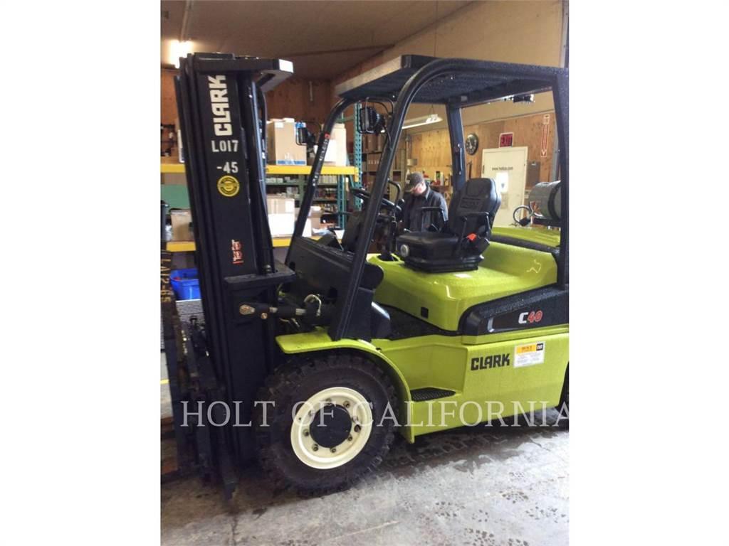Clark C40L, Misc Forklifts, Material Handling
