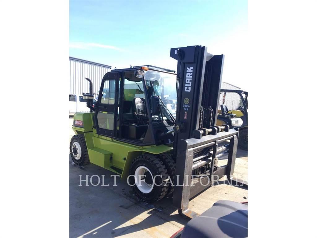 Clark C80D, Diesel Forklifts, Material Handling