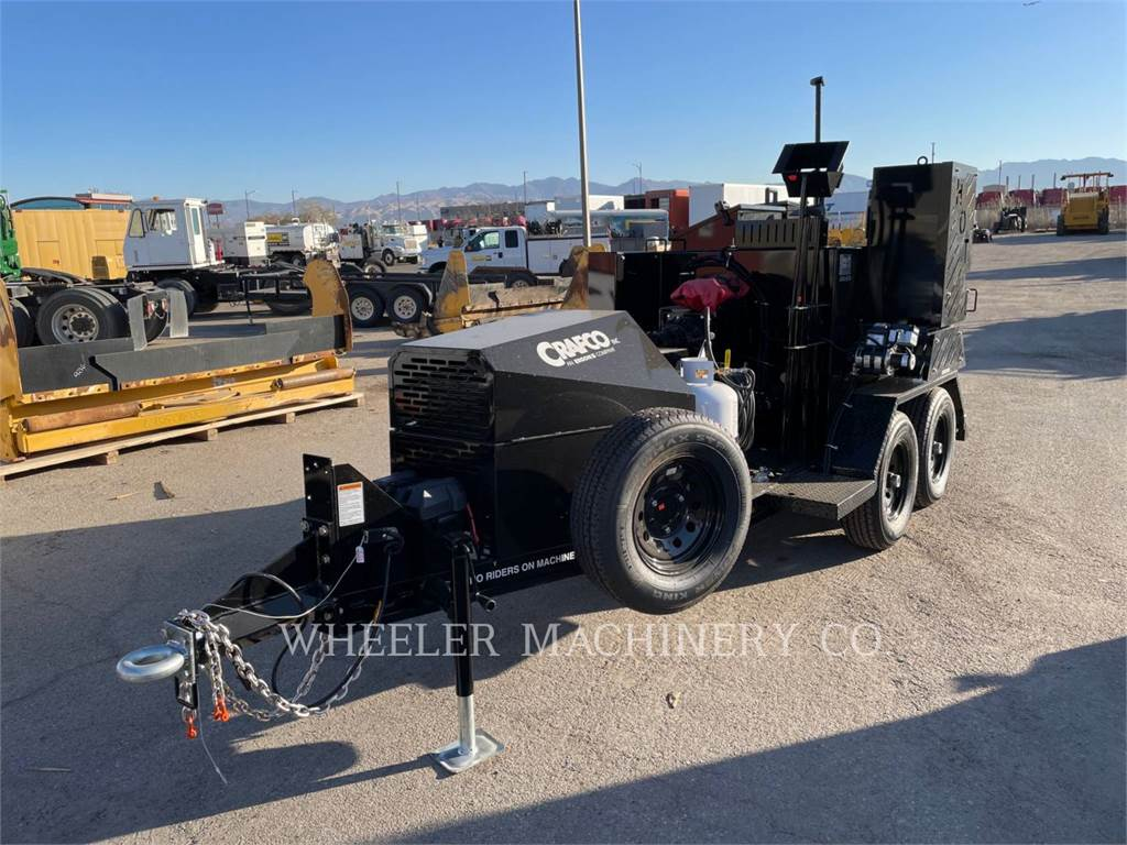Crafco PATCHER II, Asphalt and Tar Sprayers and Sealers, Construction