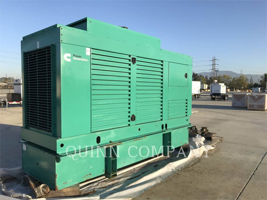 Cummins 300KW, Stationary Generator Sets, Construction