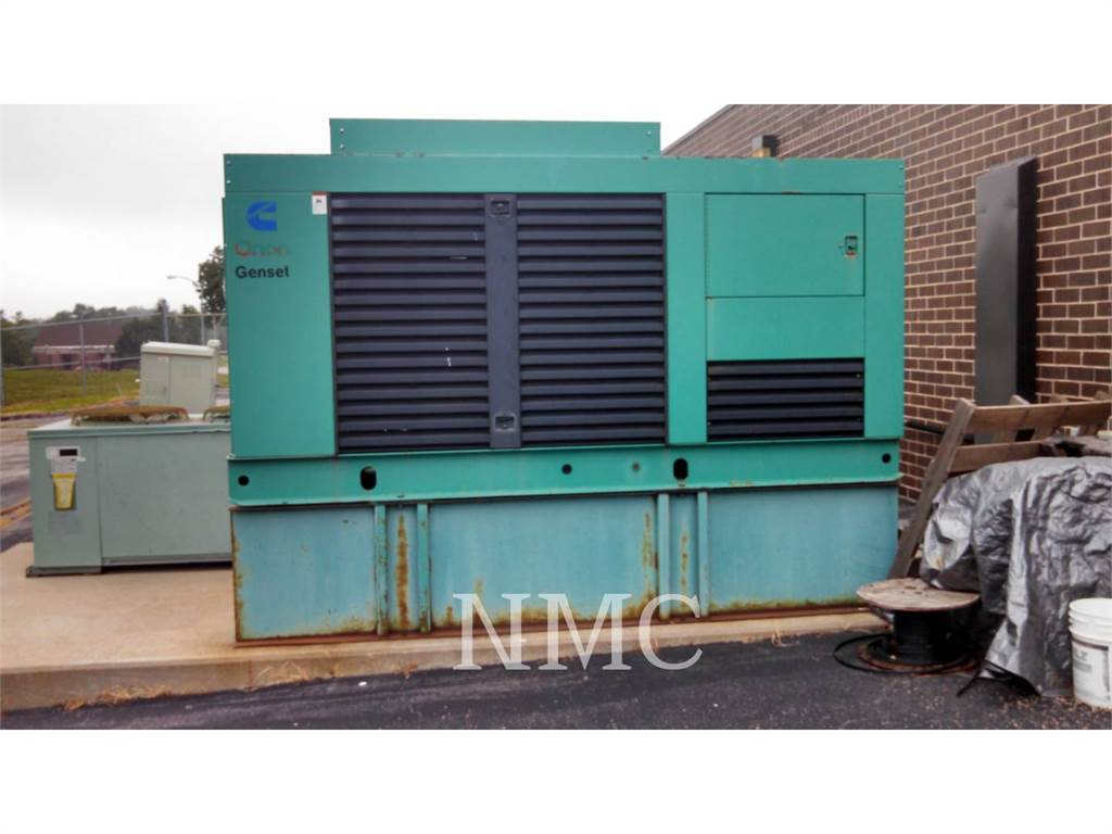 Cummins (OBSOLETE) 200DFAA, Stationary Generator Sets, Construction