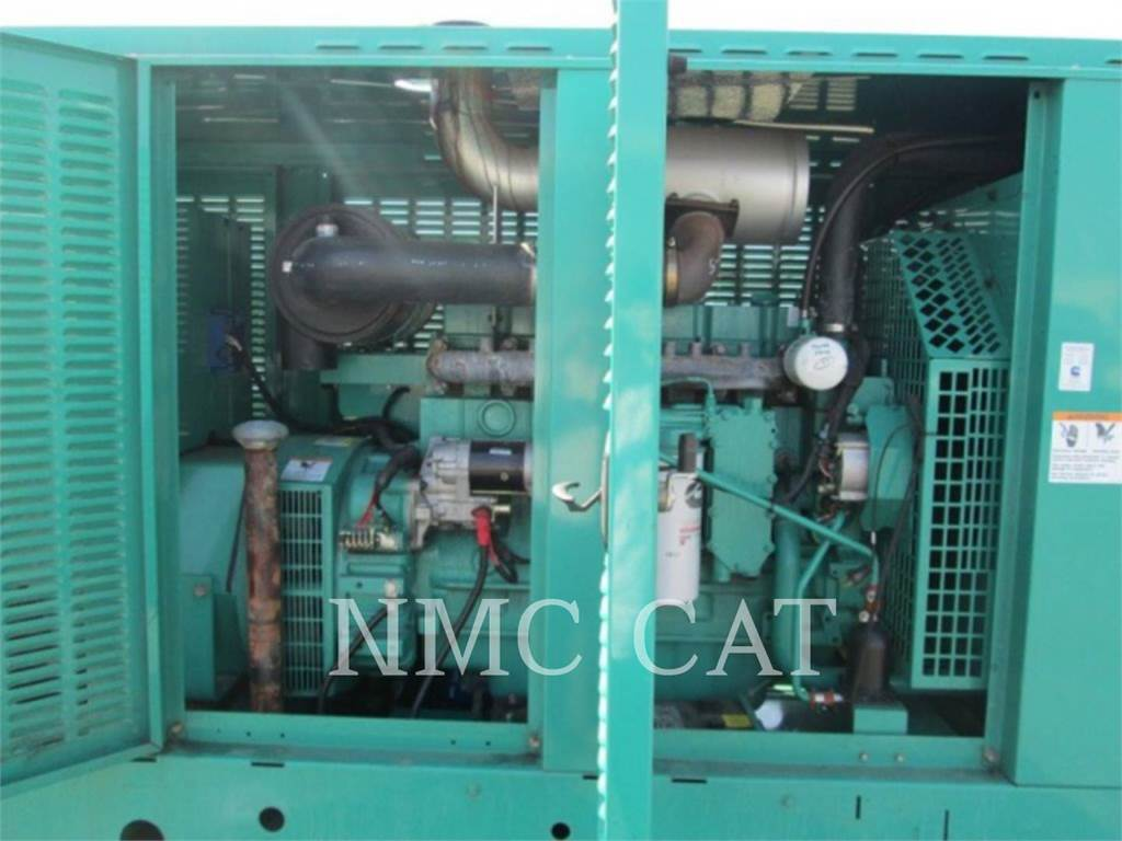 Cummins (OBSOLETE) DGEA, Stationary Generator Sets, Construction