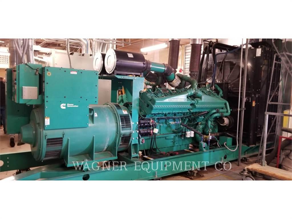 Cummins QSK50, Stationary Generator Sets, Construction