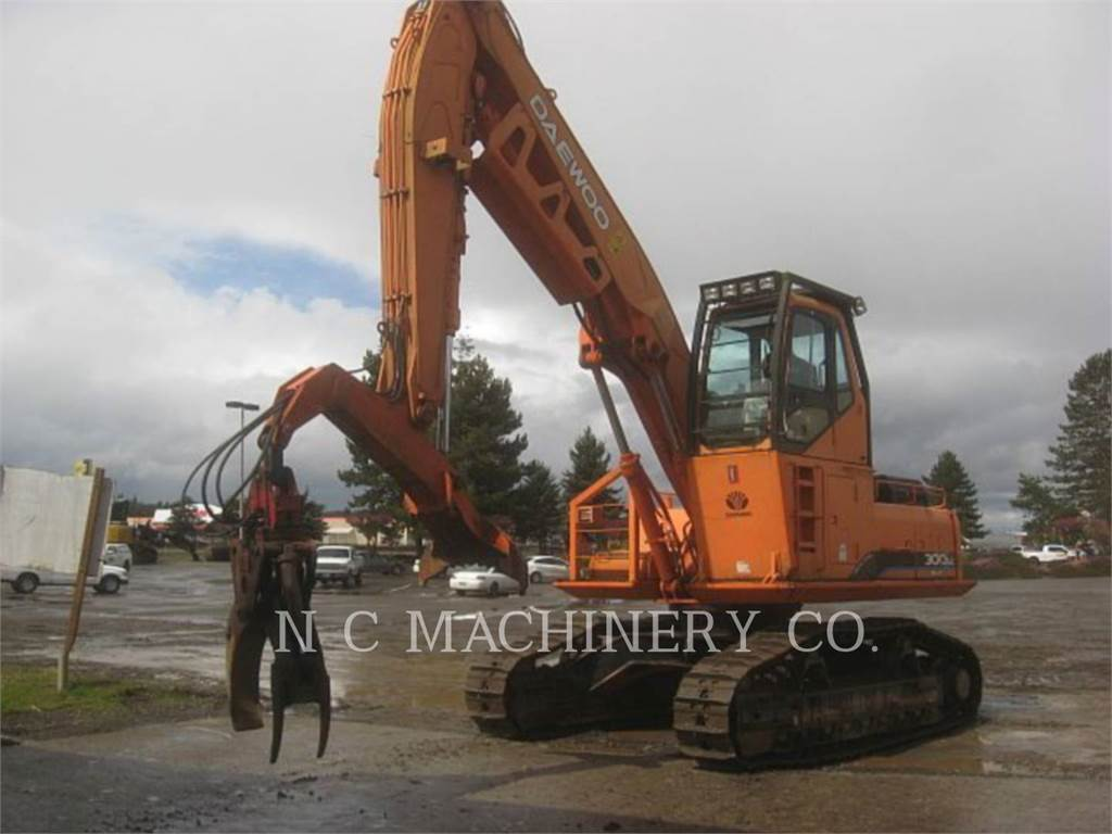 Daewoo 300LL, Knuckleboom loaders, Forestry Equipment