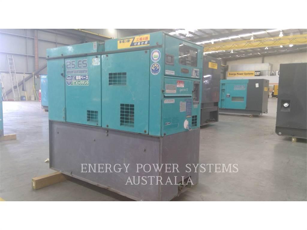 Denyo DCA-25ESI, Groupes électrogènes Stationnaires, Équipement De Construction