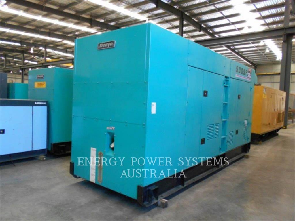 Denyo DCA-500SPK, transportable stromaggregate, Bau-Und Bergbauausrüstung
