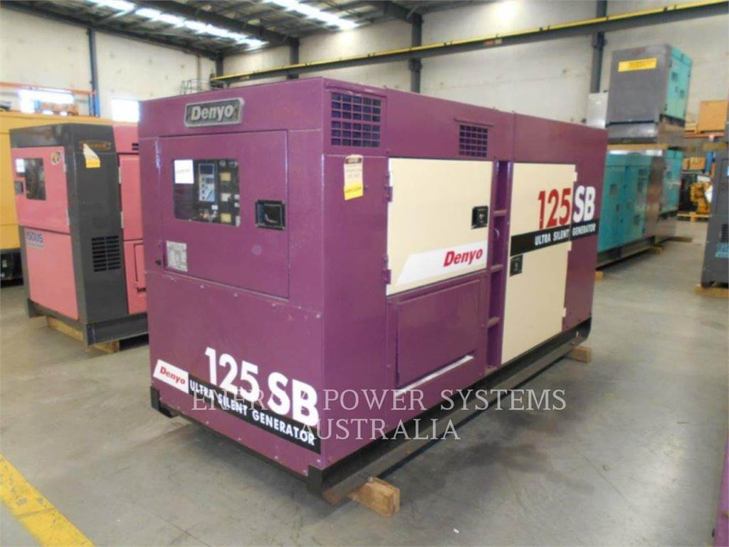 Denyo DCA125SBH, mobile generator sets, Construction