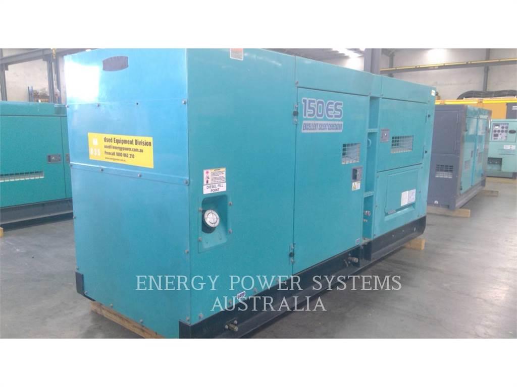 Denyo DCA150ESK, Stationary Generator Sets, Construction