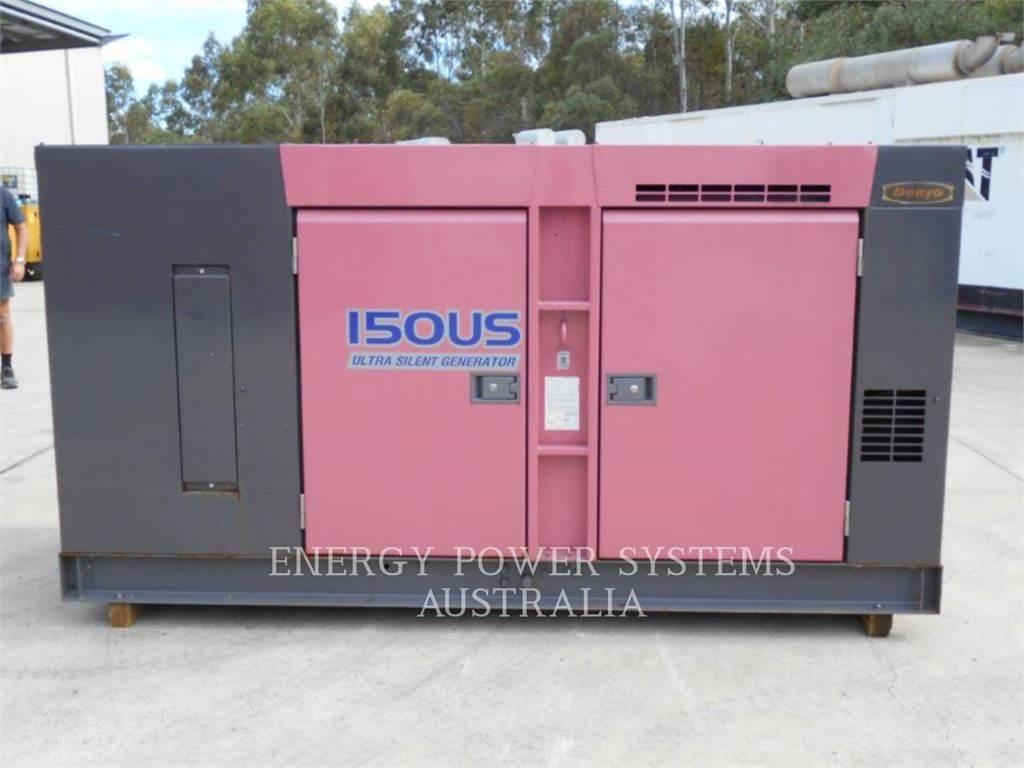 Denyo DCA150USK、固定式発電機セット、建設