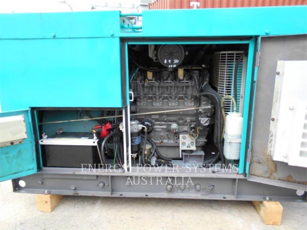 Denyo DCA25ESI, Stacjonarne Zestawy Generatorów, Sprzęt budowlany