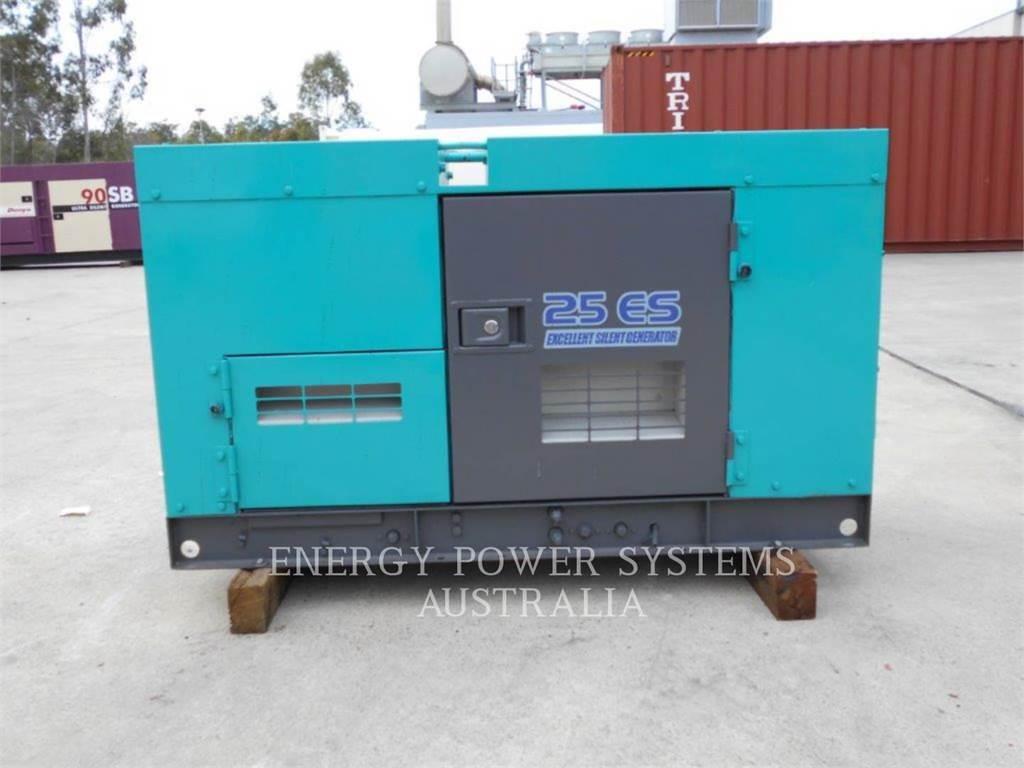 Denyo DCA25ESI, Groupes électrogènes Stationnaires, Équipement De Construction