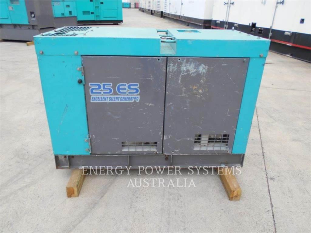 Denyo DCA25ESI, Stationary Generator Sets, Construction