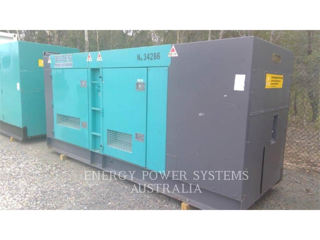 Denyo DCA300ESK, Stationary Generator Sets, Construction
