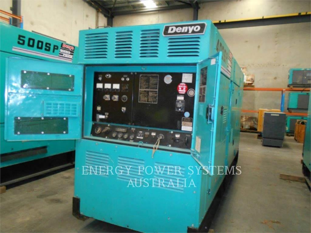 Denyo DCA400SPK、移動式発電装置、建設