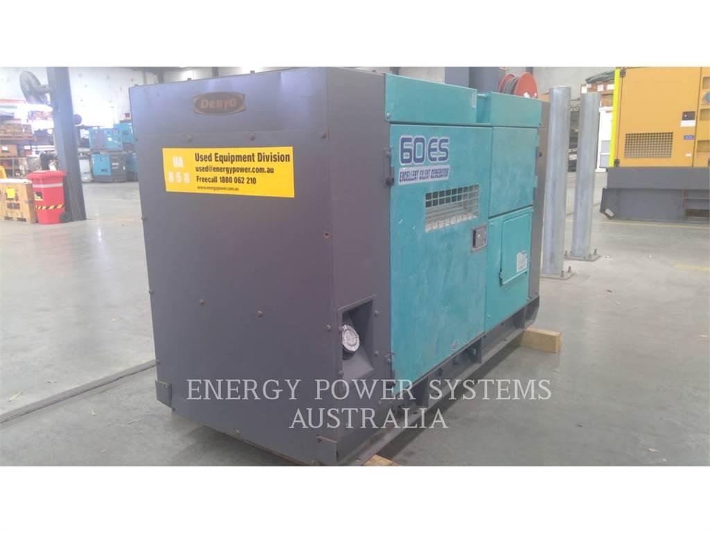 Denyo DCA60ESH, Stationaire Generatorsets, Bouw