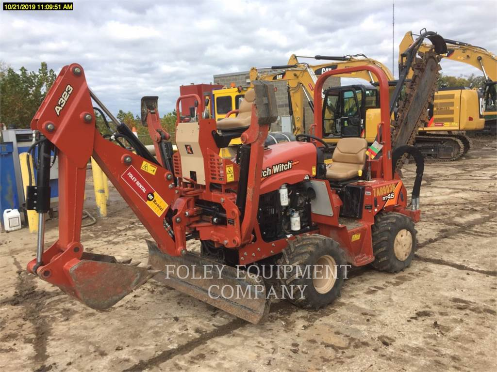 Ditch Witch (CHARLES MACHINE WORKS) RT45, Sleuvengravers, Bouw