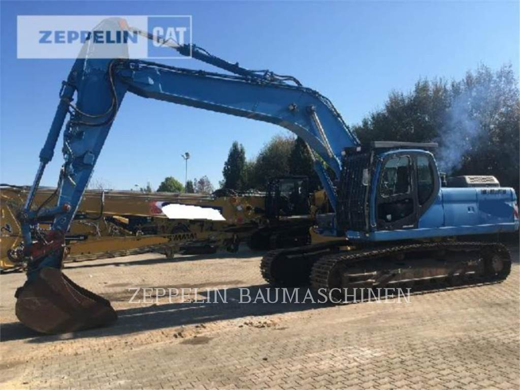 Doosan 300LC-V, Crawler Excavators, Construction