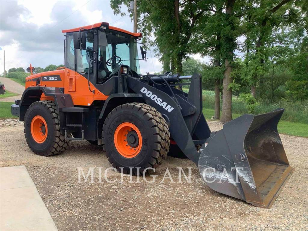 Doosan DL220.3, Wheel Loaders, Construction