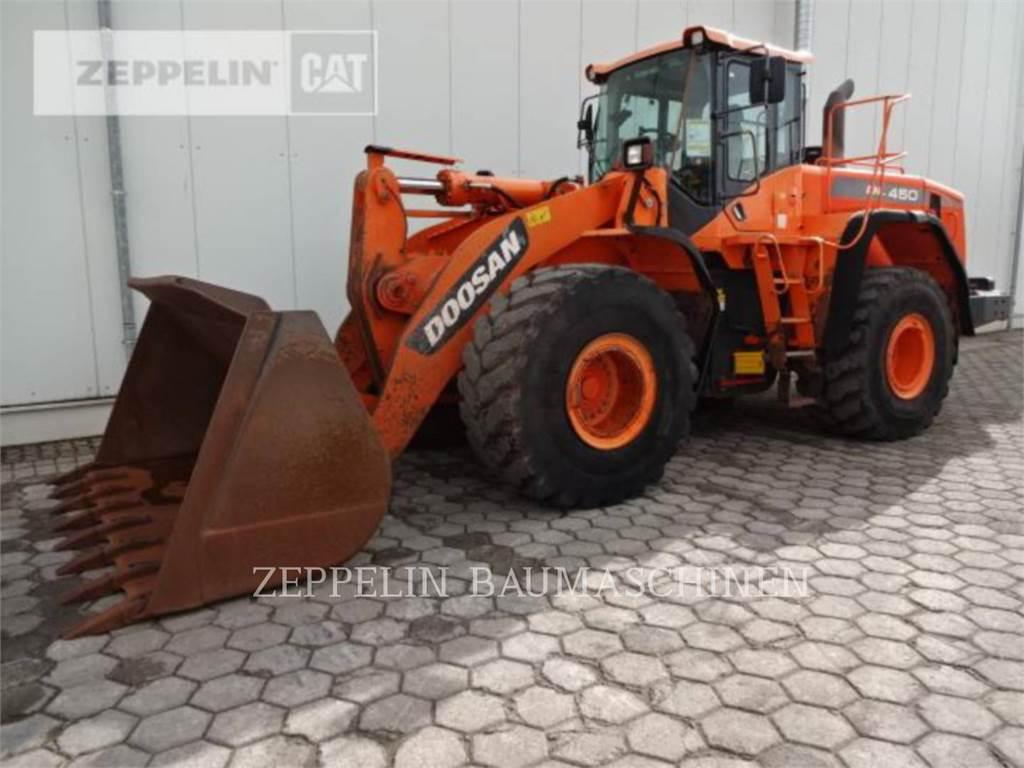 Doosan DL450, Wheel Loaders, Construction