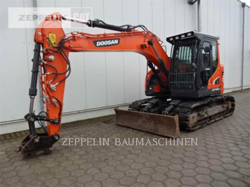 Doosan DX140LCR-5, Koparki gąsienicowe, Sprzęt budowlany