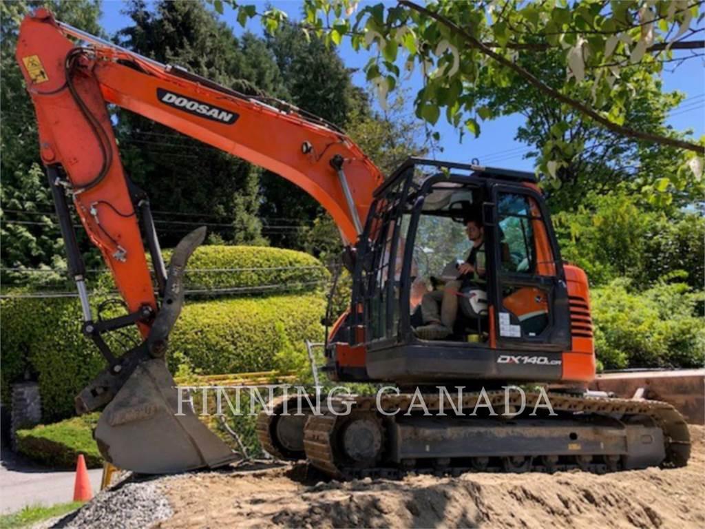 Doosan DX140LCR-5, Crawler Excavators, Construction