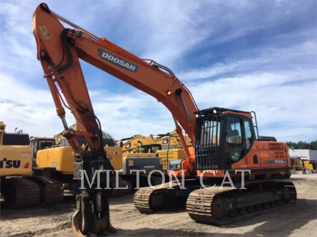 Doosan DX225LC, Crawler Excavators, Construction
