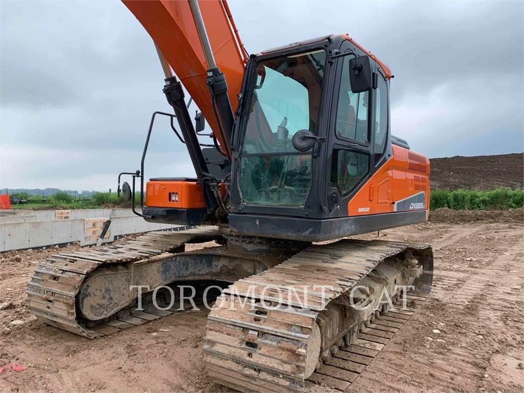Doosan DX225LC, Crawler Excavators, Construction