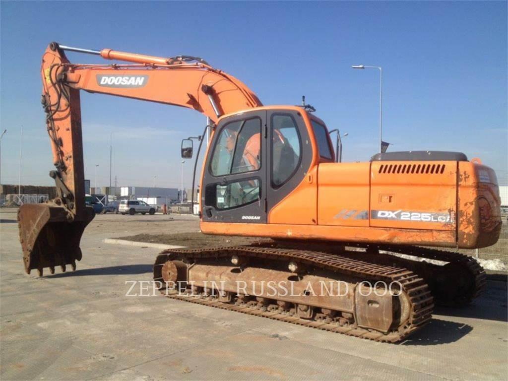 Doosan DX225LCA, Koparki gąsienicowe, Sprzęt budowlany