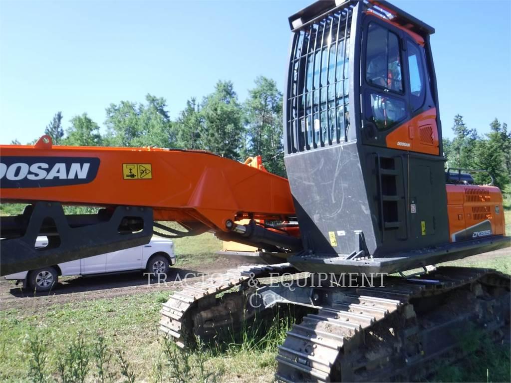 Doosan DX225LL, Knuckleboom loaders, Forestry Equipment