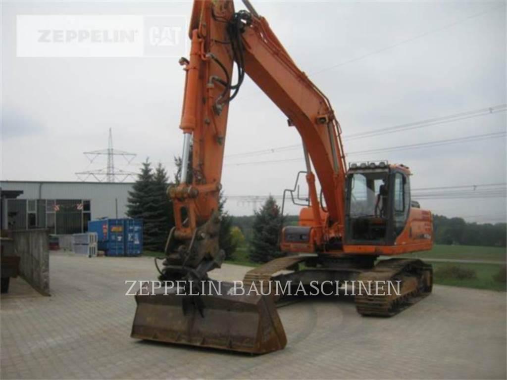 Doosan DX255LC-3, Crawler Excavators, Construction