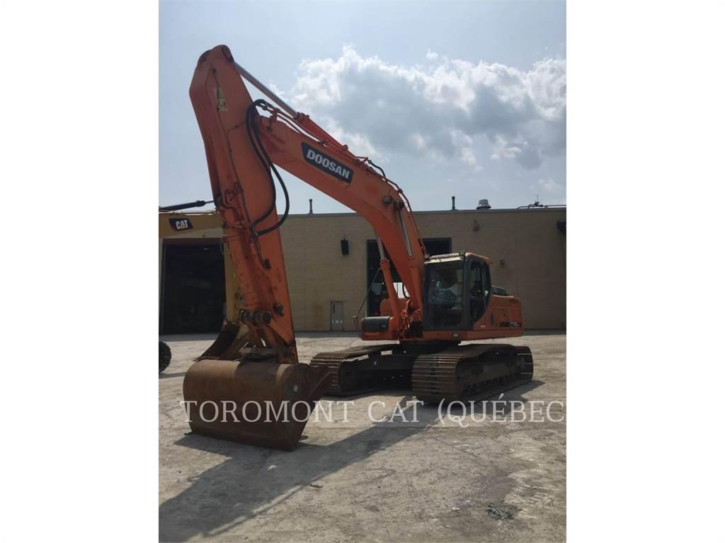 Doosan DX300, Koparki gąsienicowe, Sprzęt budowlany