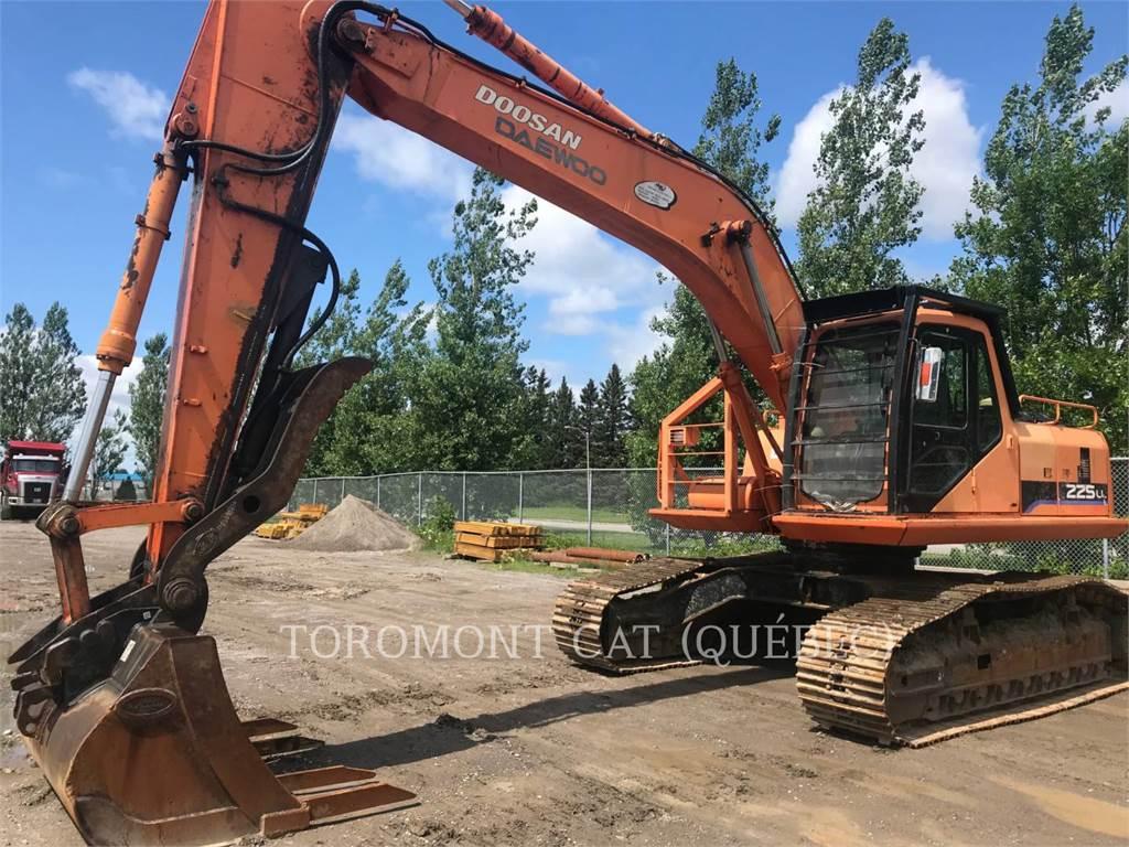 Doosan S225L, Raupenbagger, Bau-Und Bergbauausrüstung