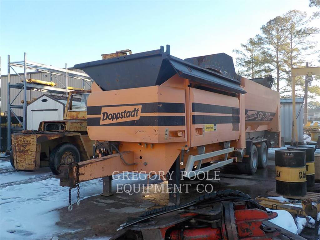 Doppstadt SM 720, Screeners, Construction
