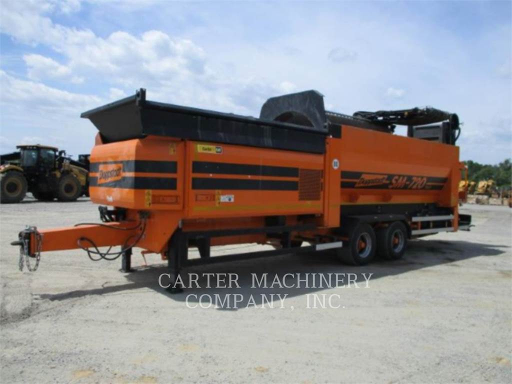 Doppstadt SM720, Screeners, Construction