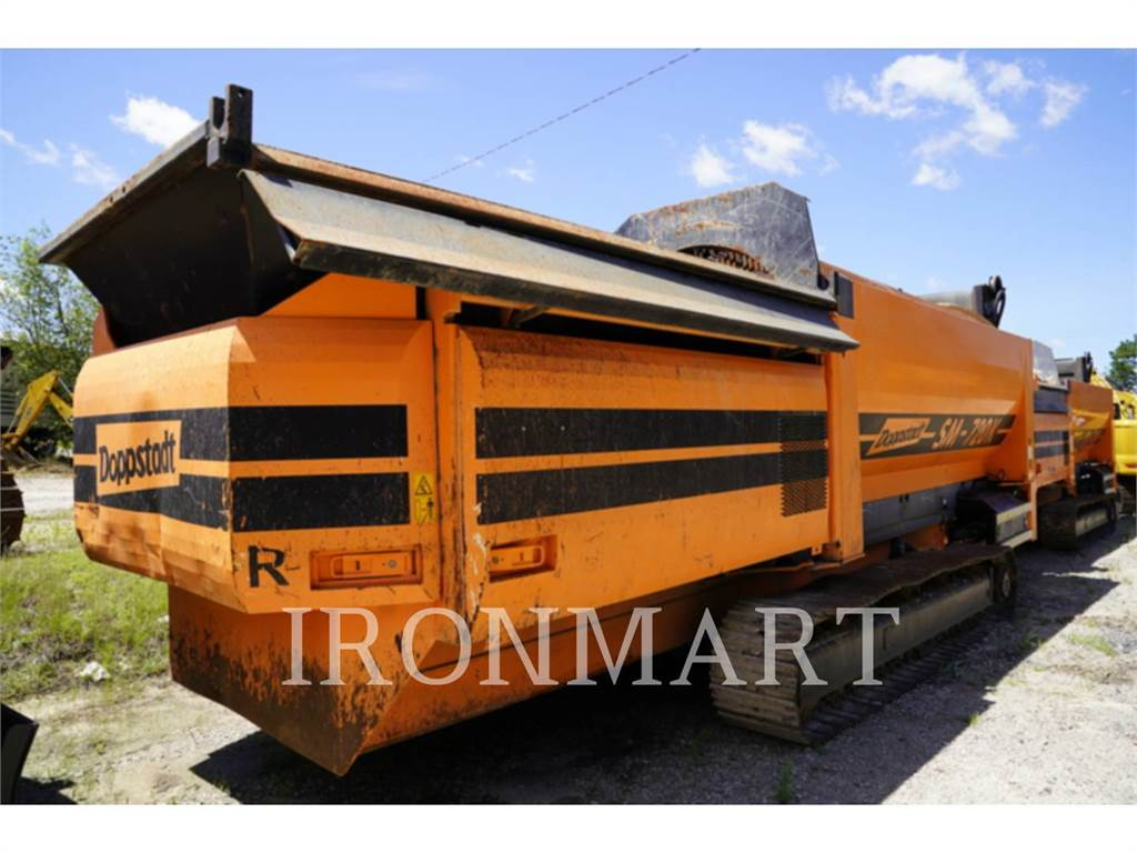 Doppstadt SM720K, Screeners, Construction