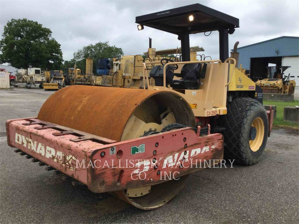 Dynapac CA 250, Single drum rollers, Construction