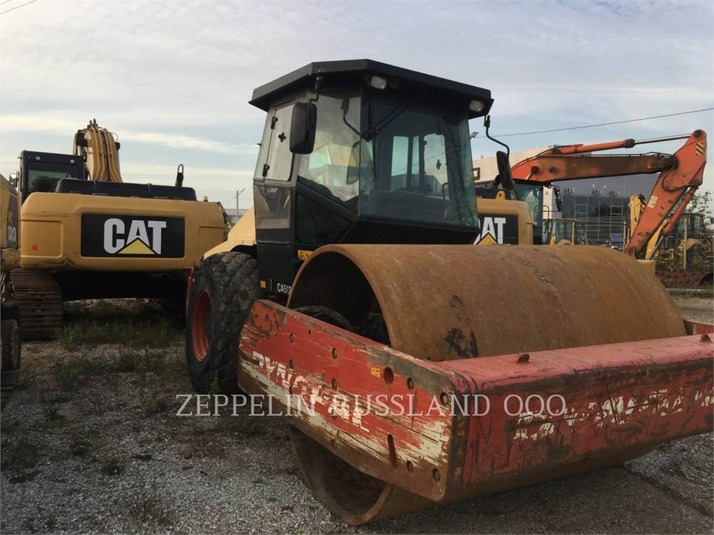 Dynapac CA512D, Single drum rollers, Construction