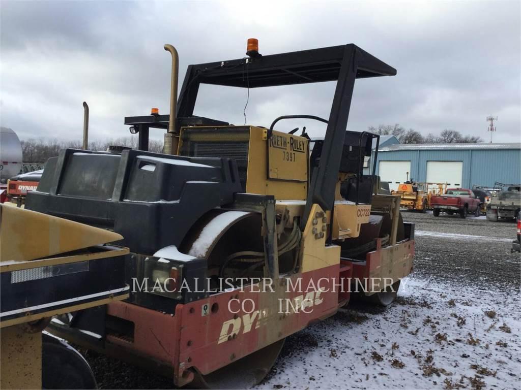 Dynapac CC722, Rouleaux tandem, Équipement De Construction