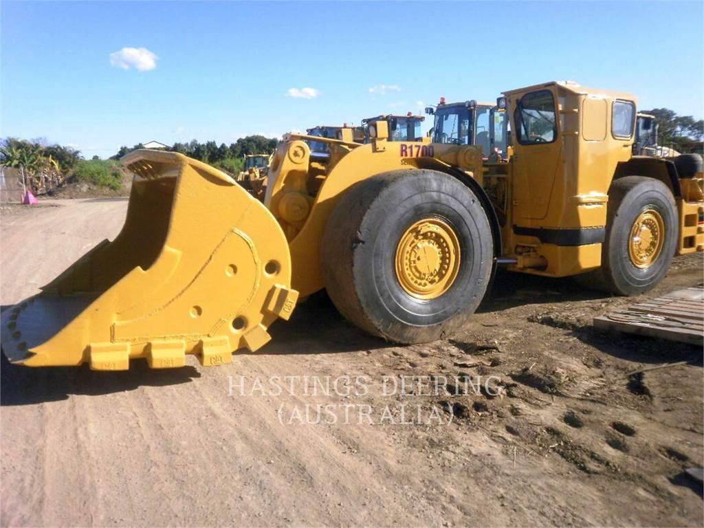 Elphinstone R1700II, underground mining loader, Construction
