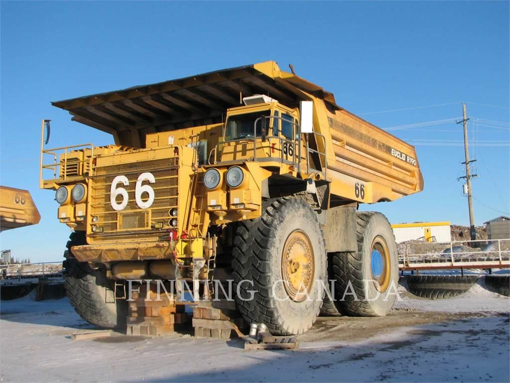 Euclid-Hitachi R-190, Articulated Dump Trucks (ADTs), Construction