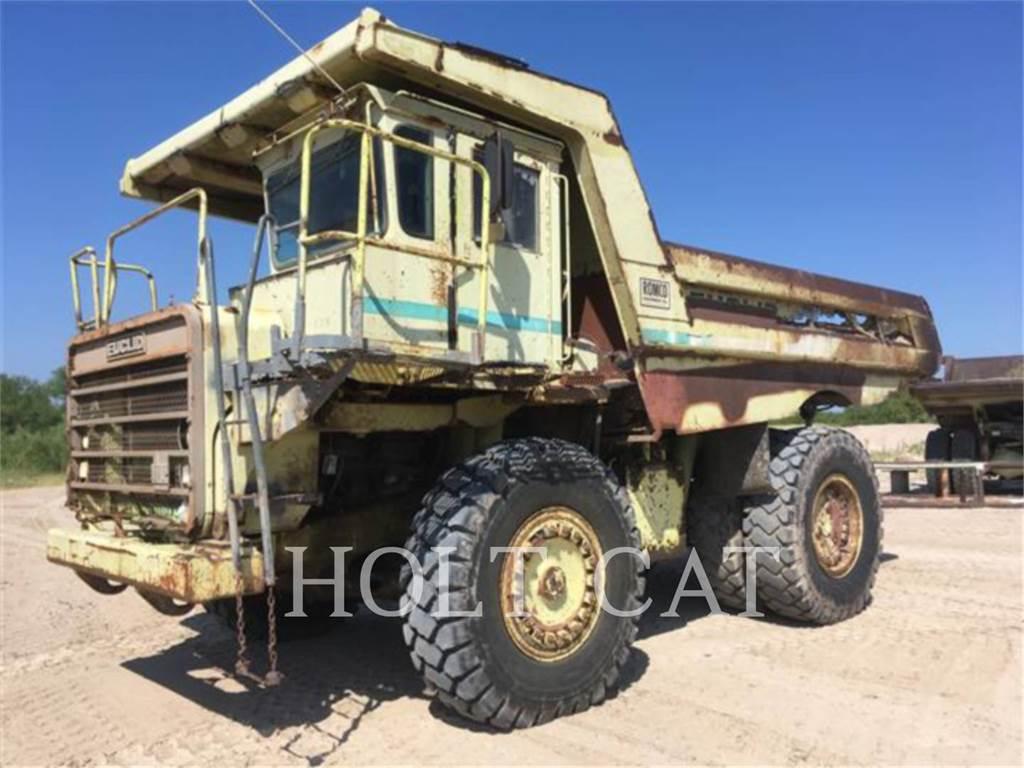Euclid-Hitachi R35, Articulated Dump Trucks (ADTs), Construction