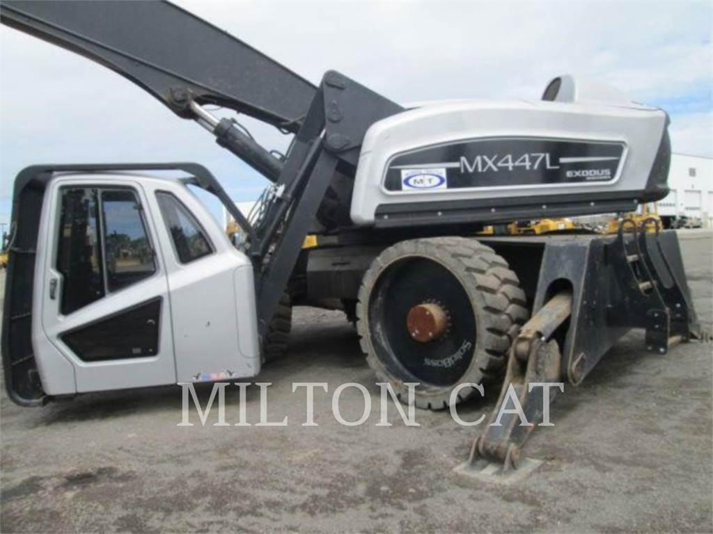 Exodus MX447L, pelles pour manutention/démolition, Équipement De Construction
