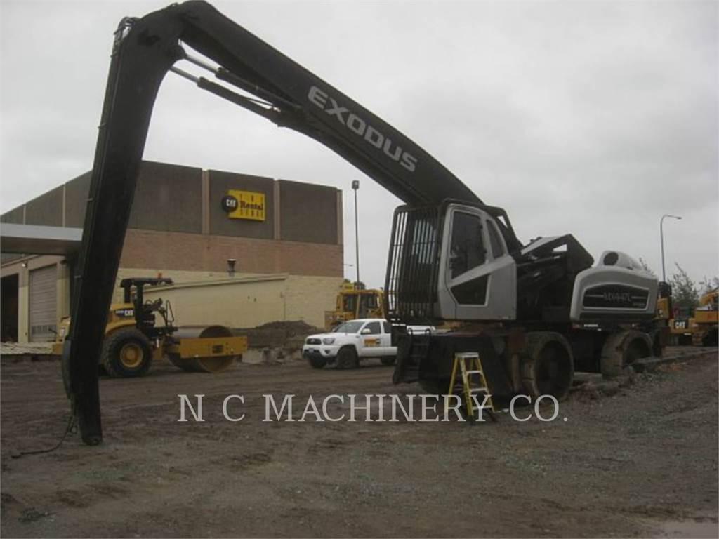 Exodus MX447L, Excavadoras de cadenas, Construcción