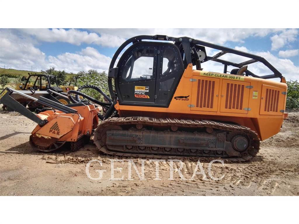 Fecon PT-400, crushers, Construction