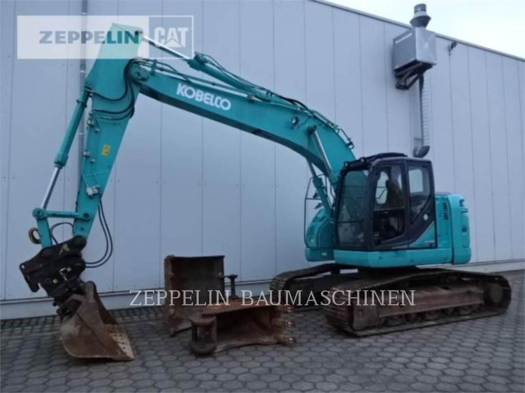 Fiat-Kobelco SK230SRLC, Crawler Excavators, Construction