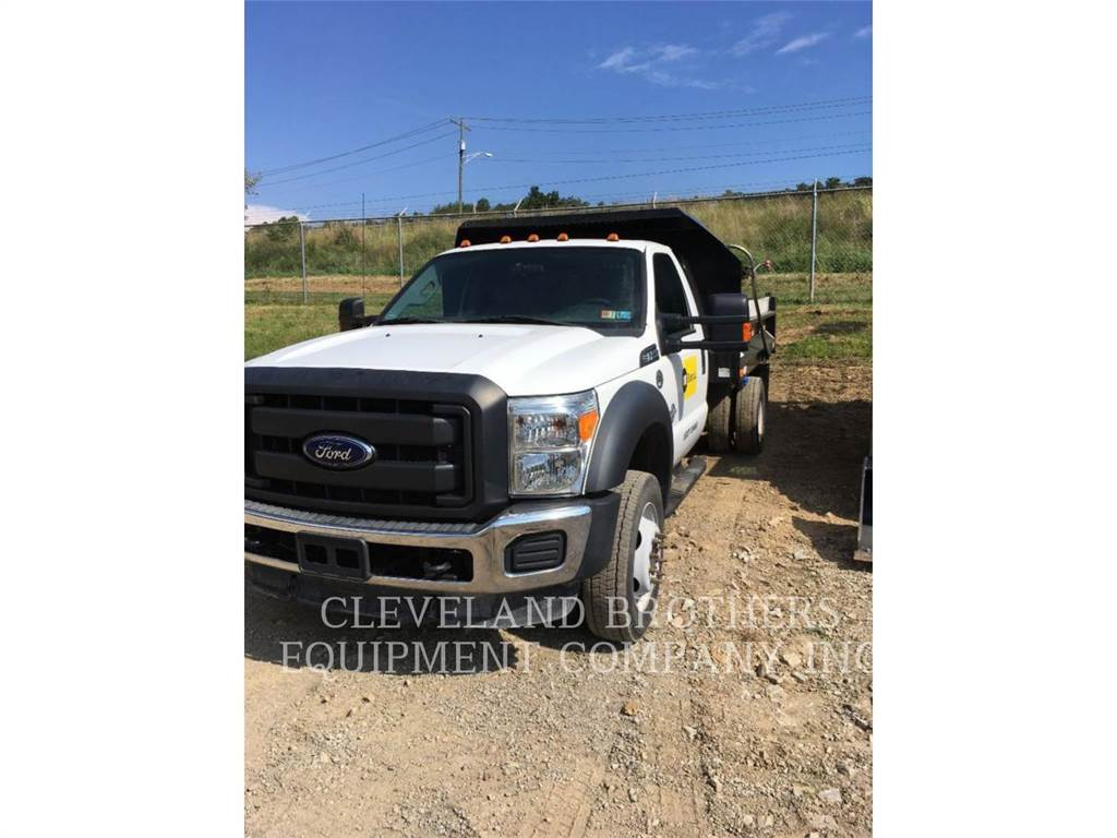 Ford F550 DT, dump trucks, Transport