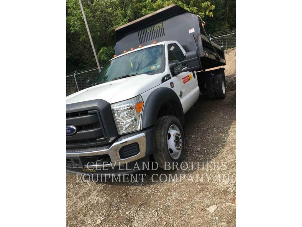 Ford F550 DT, dump trucks, Transport