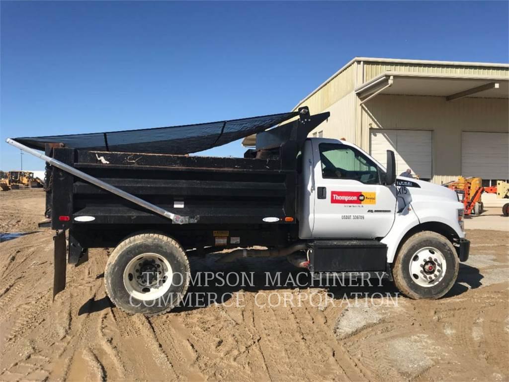 Ford F750, dump trucks, Transport